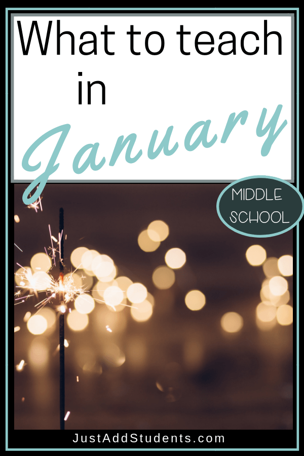 What to teach in January.