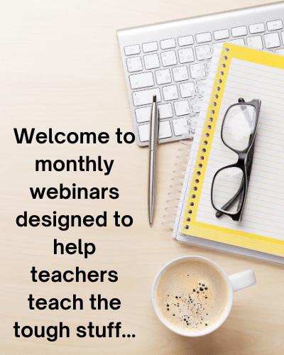 Webinars to help teachers