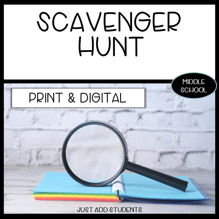 host a scavenger hunt