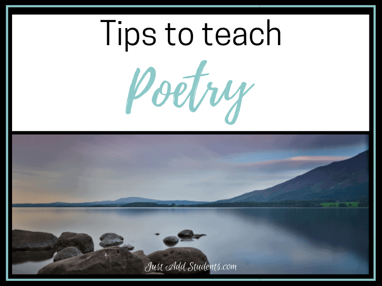 Tips to teach poetry